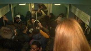 Grève dans les transports : lundi noir en Île-de-France (France 2)