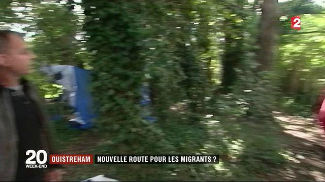 Normandie : Ouistreham, nouvelle route pour les migrants ?