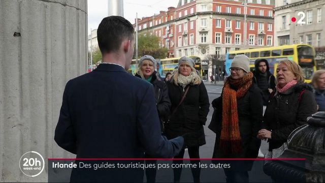 Irlande : d'anciens SDF deviennent guides touristiques