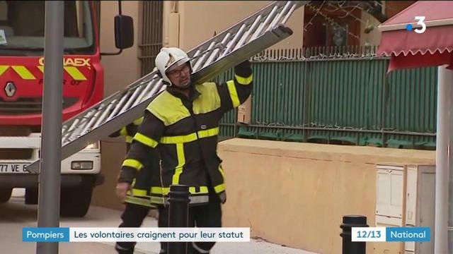 Pompiers : les volontaires en danger ?
