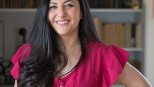 La journaliste Claire Koç (EYES AND PIX / FAURE LIONEL)