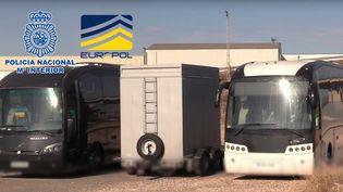 Europol a soutenu l'opération par la coordination, l'analyse et l'échange d'informations. (EUROPOL)