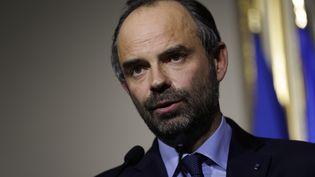 Edouard Philippe, le 21 décembre 2017, à Matignon. (THOMAS SAMSON / AFP)