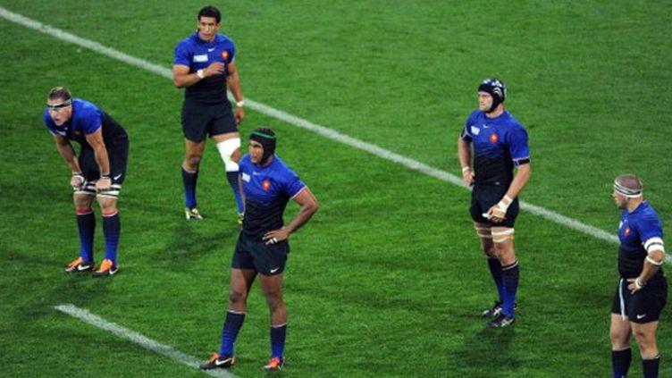 Le XV de France en plein doute (WILLIAM WEST / AFP)