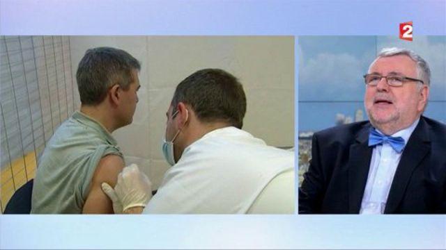 """Grippe : """"Les personnes âgées répondent relativement mal à la vaccination"""", estime le Dr Jean-Daniel Faysakier"""