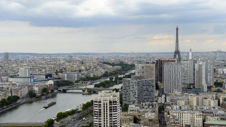 La ville de Paris, le 4 août 2014. (BERTRAND GUAY / AFP)