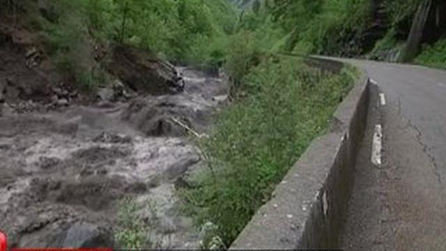 De fortes pluies provoquent d'importants dégâts en Savoie et Haute-Savoie