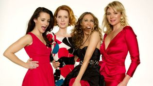 "Sarah Jessica Parker, Kim Cattrall, Cynthia Nixon et Kristin Davis dans ""Sex and the City"".  (HBO /OCS)"