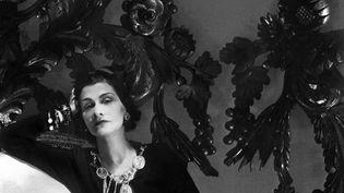 """La couturière Gabrielle Chanel dite """"Coco"""" en 1944 à Paris (AFP)"""