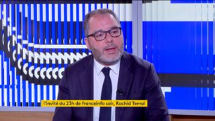 Rachid Temal (PS) (FRANCEINFO)