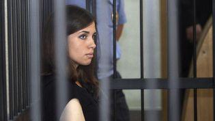 Nadejda Tolokonnikova, le 26 juillet 2013au tribunal de Saransk  (STR/AP/SIPA)