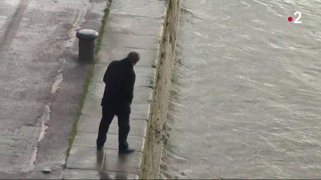 Inondations : quand la Seine monte à vue d'oeil