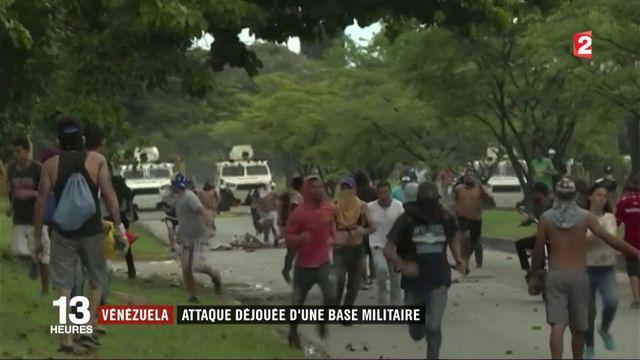 Crise au Venezuela : une attaque sur une base militaire fait deux morts