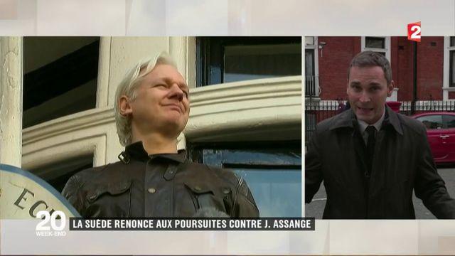 Après l'abandon des poursuites contre lui, Julian Assange va demander l'asile politique à la France