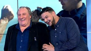 Gérard Depardieu et Sadek, un duo improbable et une belle rencontre.  (France 3 Culturebox)