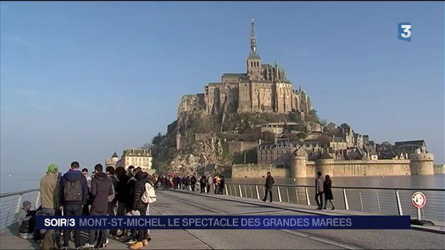 Mont-Saint-Michel : les grandes marées sont de retour