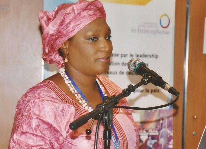 Madame Yansiné Fatou Baldé est présidente de la Coalition des femmes-leaders de Guinée. Elle appelle à un débat serein sur le projet de code civil guinéen et, si nécessaire, à l'organisation d'un référendum. (Photo/Coalition des femmes-leaders de Guinée)