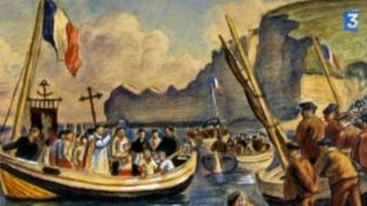 Le littoral haut-normand, intarissable source d'inspiration pour les peintres  (Culturebox)
