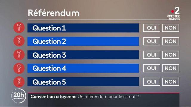 Convention citoyenne : un référendum pour le climat ?