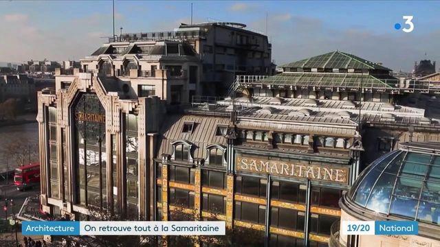 Paris : réouverture de la Samaritaine, les premiers visiteurs sont sous le charme