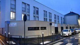 Le centre maternel oùNathalie Stephan et sa fille Vanille étaient hébergées, à Angers (Maine-et-Loire), le9 février 2020. (MAXPPP)