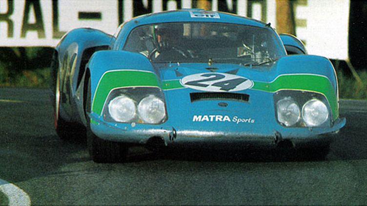 Henri Pescarolo sur la Matra 630M lors des 24 Heures du Mans 1968