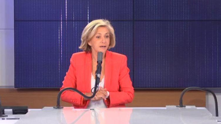 Valérie Pécresse, président de la région Île-de-France, sur franceinfo. (FRANCEINFO / RADIOFRANCE)