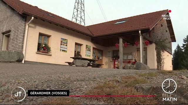 Vosges : un restaurant a eu le droit de servir à table le midi