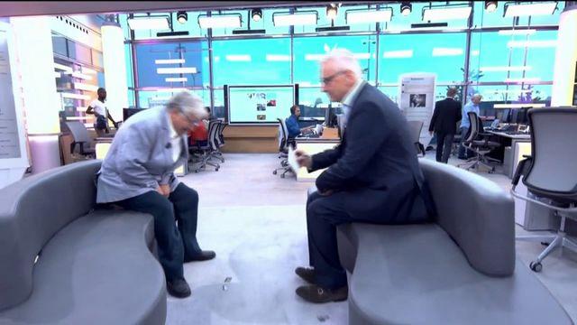 """Invité de Jean-Paul Chapel pour la rentrée de """": L'éco""""ce lundi 28 août, Elie Cohen, économiste, a évoqué l'emploi, la croissance et la réforme du code du travail en France."""