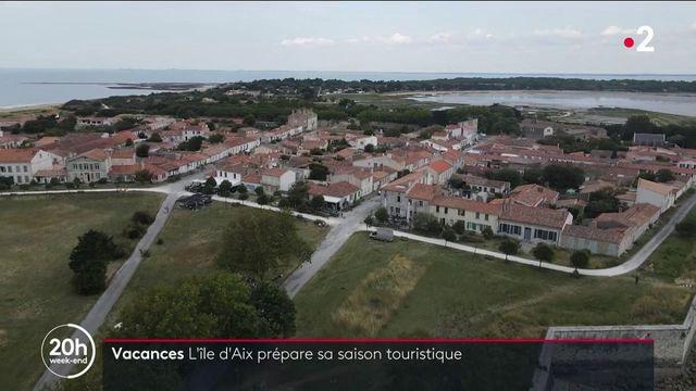 Vacances : l'île d'Aix prépare le début de sa saison touristique