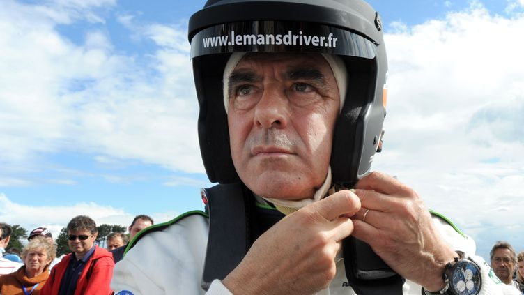 L'ancien Premier ministre François Fillon, le 6 juillet 2012 aux 24 Heures du Mans. (JEAN-FRANCOIS MONIER / AFP)