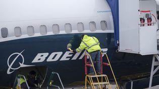 """Illustration""""Complément d'enquête"""". Crash, disparitions : les avions maudits de Boeing (STEPHEN BRASHEAR / GETTY IMAGES NORTH AMERICA)"""