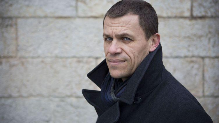 Bertrand Virieux, l'une des victimes deBernard Preynat, assiste au procès de l'ex-père jugé à Lyon en janvier 2020. (JEAN NICHOLAS GUILLO / MAXPPP)