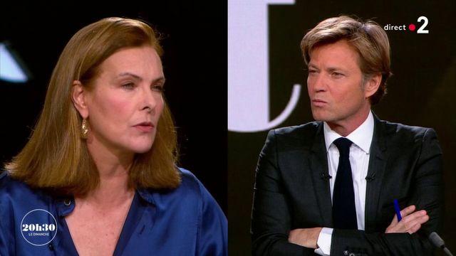 """VIDEO. """"20h30 le dimanche"""". La colère et l'engagement de Carole Bouquet contre les violences sexuelles sur les enfants"""