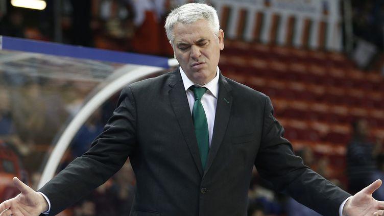 Philippe Hervé n'entraînera plus Limoges en 2016 (SEDAT SUNA / EPA)
