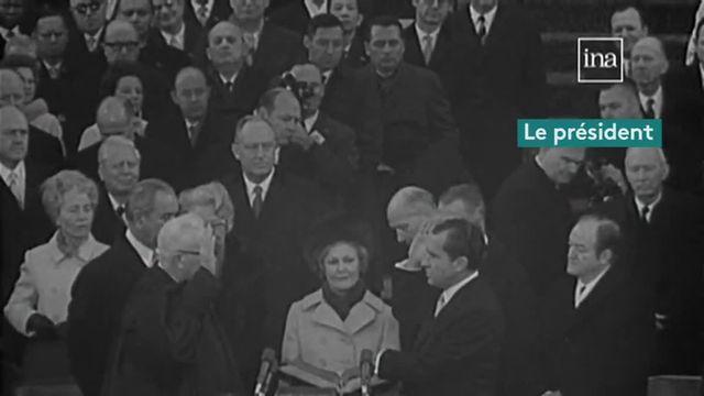 VIDEO. De Truman à Trump, 70 ans d'investiture du président américain