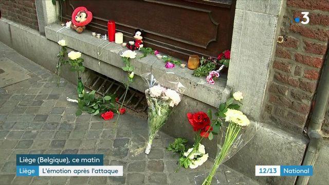 Après l'attaque de Liège : la ville en deuil
