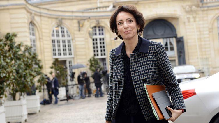 La ministre de la Santé, Marisol Touraine, le 4 janvier 2013 à Matignon (Paris). (BERTRAND GUAY / AFP)