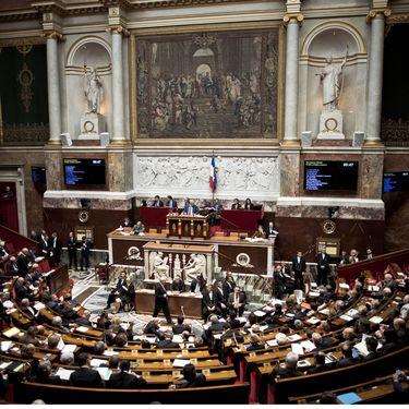 L'Assemblée nationale, le 15 novembre 2016 à Paris. (NICOLAS MESSYASZ / SIPA)