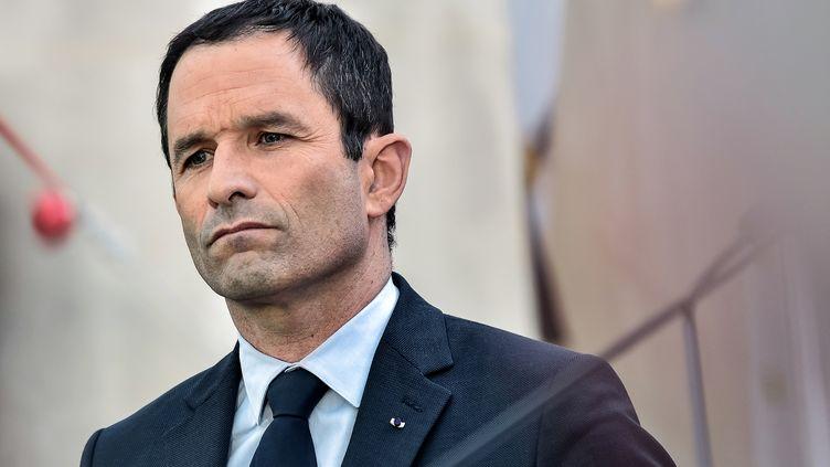 Benoît Hamon, le 27 mars 2017, à Paris. (JULIEN MATTIA / AFP)