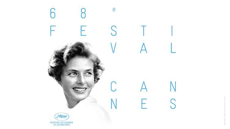 Ingrid Bergman sur l'affiche du 68e Festival de Cannes. (DAVID SEYMOUR / MAGNUM PHOTO / FESTIVAL DE CANNES)