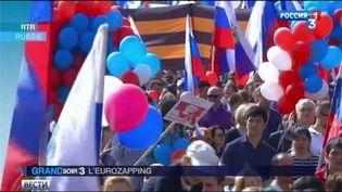 Les manifestations du 1er mai2017 en Russie (France 3)