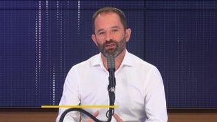 Benoit Hamon, le lundi 14 septembre 2020. (FRANCEINFO / RADIO FRANCE)