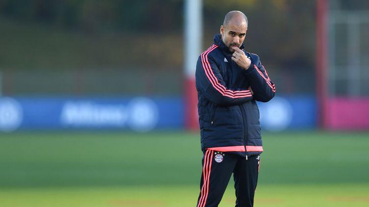 Pep Guardiola quittera le Bayern à la fin de la saison  (CHRISTOF STACHE / AFP)