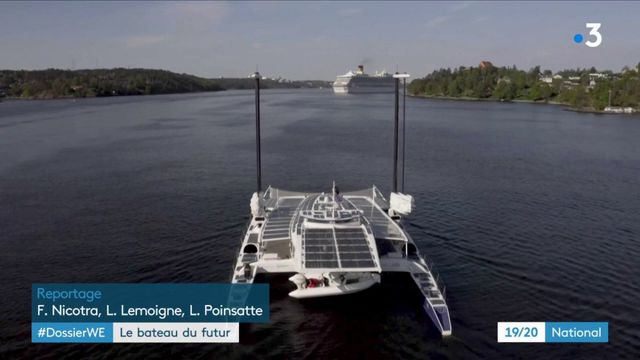 Environnement : Energy Observer, un bateau avec l'énergie solaire pour moteur