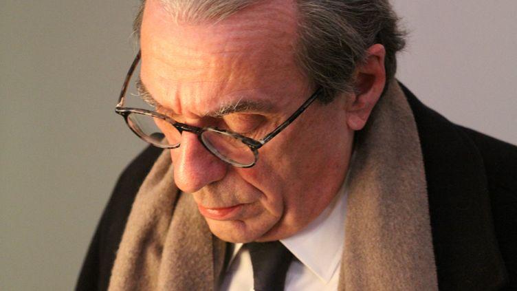 Roland Ries, le maire de Strasbourg, le 12 décembre 2018. (LAURENT GENVO / RADIO FRANCE)