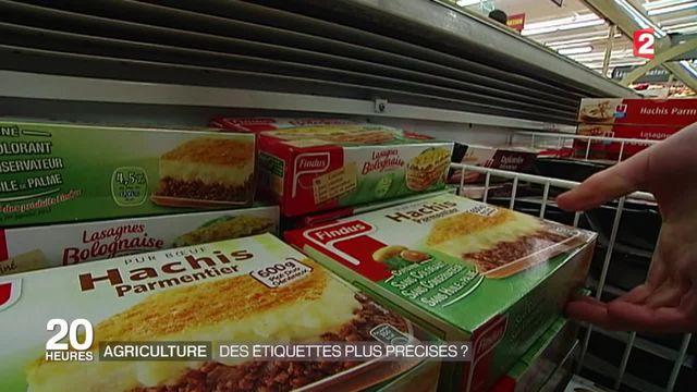Les agriculteurs veulent que l'origine des produits soit systématiquement indiquée