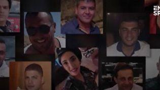 Des victimes de l'explosion à Beyrouth le 4 août. (FRANCEINFO)