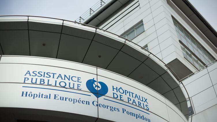 L'hôpital Georges-Pompidou, dans le XVe arrondissement de Paris. (MAXPPP)