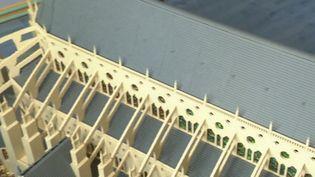 Bourges : la cathédrale reproduite en Lego par un passionné (FRANCE 3)